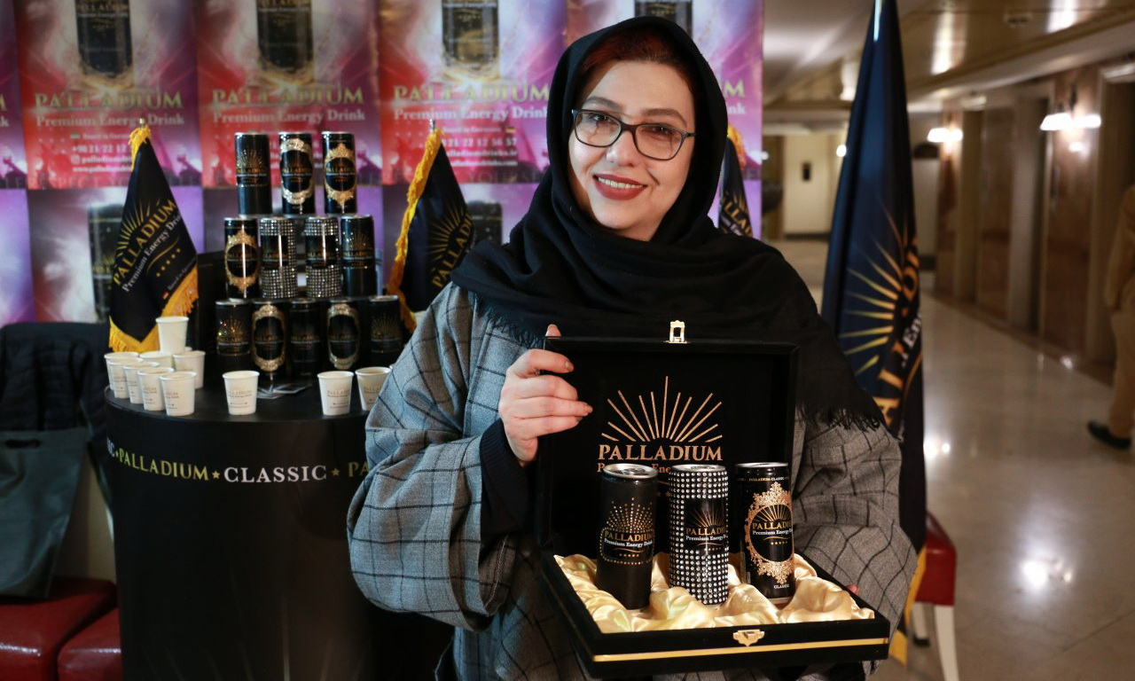 حضور البلاديوم في معرض المنتجات المحلية - إيران - مشهد