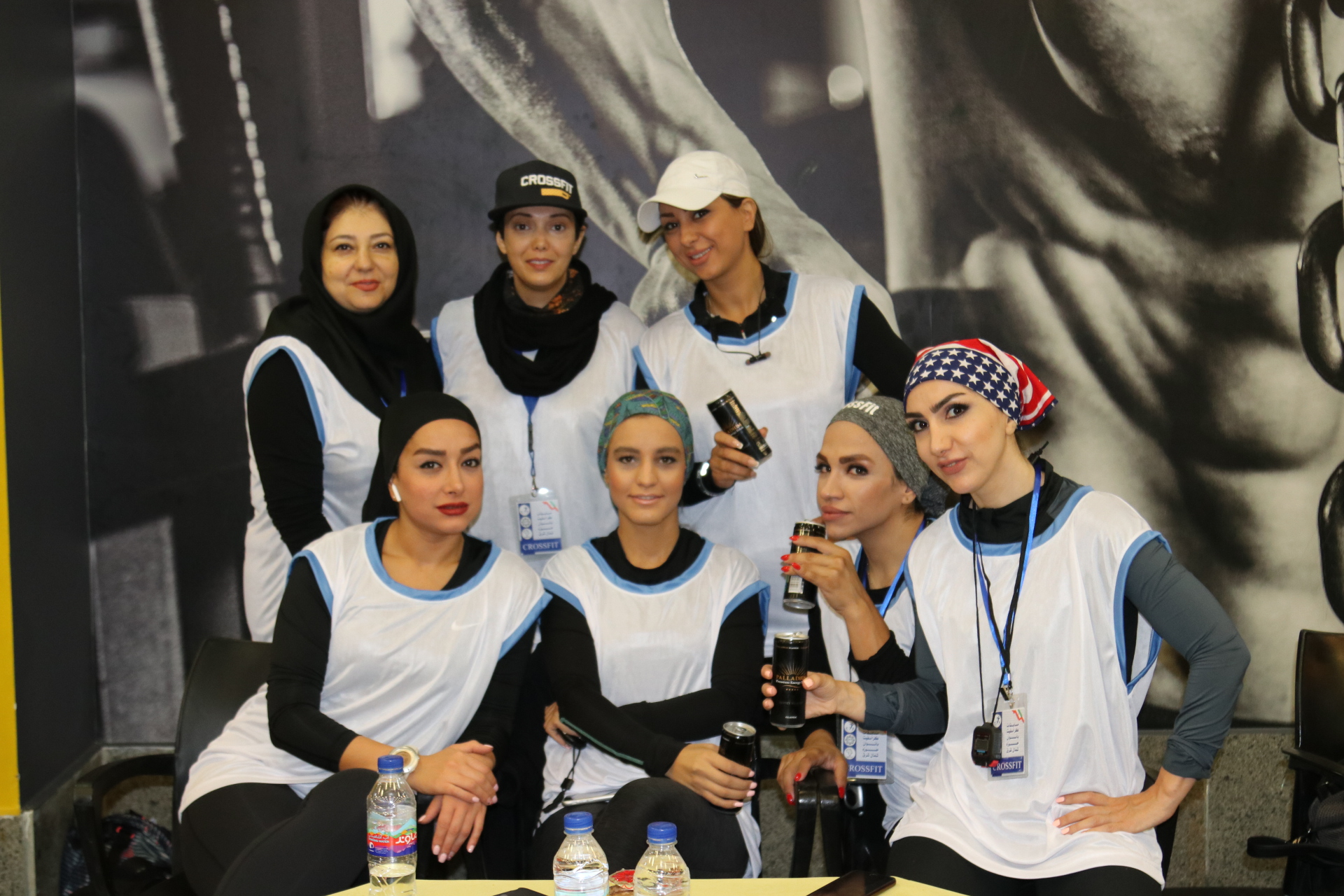 Women's Crossfit Competition Northeast of Tehran